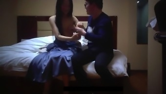 Chinese outcall hooker blue gown