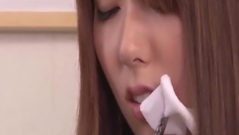 Yui Hatano deals a lot of dick in her Asian pussy - More at javhd.net