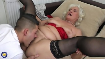 Granny Juliene loves using young studs to fulfill her needs