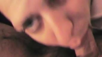 Italian Blowjob Close Up