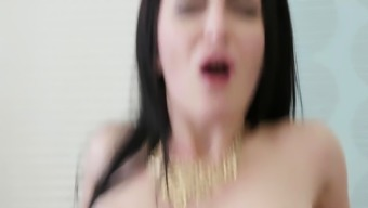 Swinger Wives Have a Cock Riding Contest