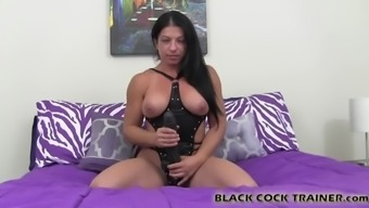 I have a big black monster cock for your sissy ass