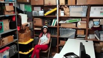 Teen latina shoplifter
