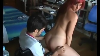 01 guy in wheelchair having sex