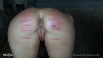 Victoria Voxxx and her friend get their tight butts spanked
