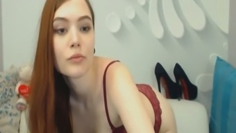 Sexy Petite Brunette Horny On Webcam