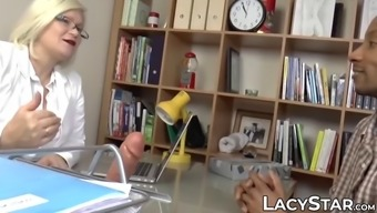 Gilf doctor lacey starr cures patient with interracial sex