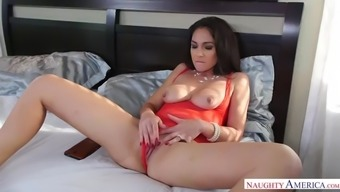 Jessica torres fucking in the bedroom with her natural tits