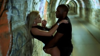 BLACKEDRAW Two Blondes Fuck Two Dominant BBCs