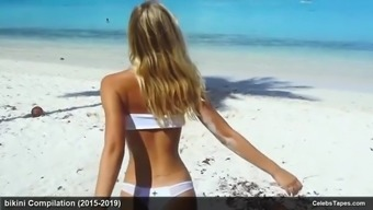 Celebrity model alexis ren topless and bikini photoshoot