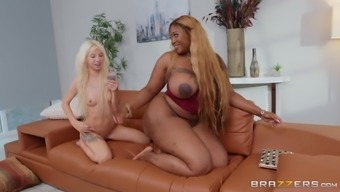 Kenzie Reeves and Victoria Cakes enjoy unforgettable lesbian sex