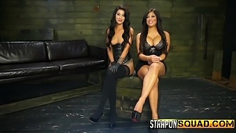 There is nothing better for Alexa Pierce than a lesbian sex with a strapon
