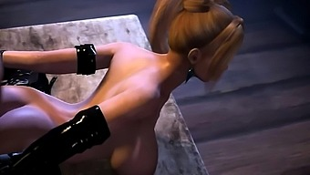 Hot DoA Characters Getting Fucked in their Animated Pussies