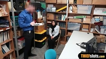 Arab Sex On Webcam With Security Guard In Supermarket