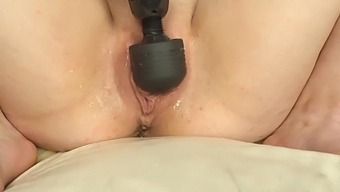 Teen Squirts and Fists her Tight little Pussy whilst Dripping Pussy Juice / Casey Jones