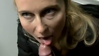 Czech blonde MILF is paid for for sex and gets nailed