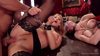 Presenting the best erotic bondage sex with Simone Sonay and Addison Ryder