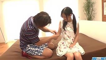 Suzu Ichinose fantasy sex with an older man