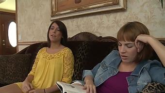 Amateur lesbian love making between Dana Dearmond and Ashlyn Rae