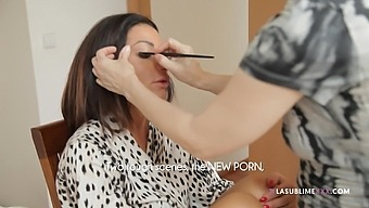 Porn casting with Priscilla Salerno and behind the scenes tour