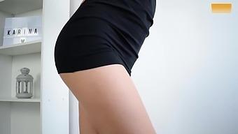 HOTTEST MINI DRESS UPSKIRT DANCE - NO PANTIES