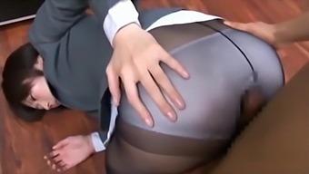 顔面騎乗パンストフェチ Japanese pantyhose domina