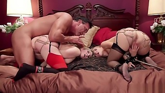 Tight tied butts blondes are anal fucked