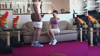 personal trainer with big dick fucking ebony
