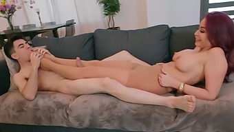 Nude porn for the busty mom once feeling the step son's huge cock