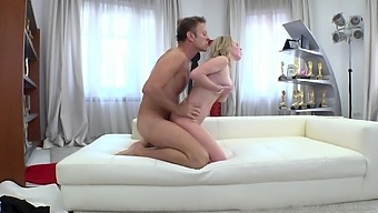 Extremely wild bitch Alexa works well on Rocco's strong boner cock