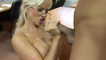 A pussy in need, needs a huge and double cock indeed.