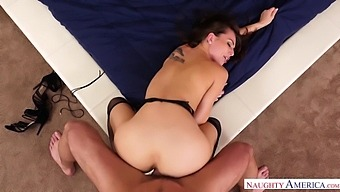 Awesome oral petting of horny Charles Dera and Aidra Fox is turned into hot fuck