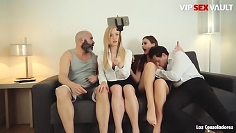 Tina Kay And Her Lover Hire Swinger Couple For Sex