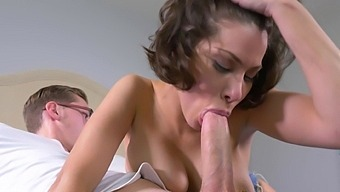 Cum on pussy ending after passionate fucking with hot ass Aleksa Nicole