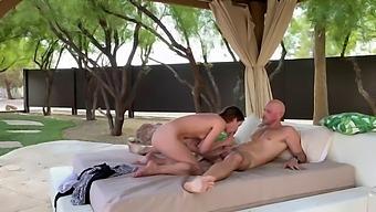 Pornstar Poolside Sex- Johnny Sins & Nadia Noja